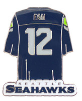 Seattle Seahawks 12th Man Jersey Pin
