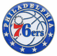 Philadelphia 76ers Logo Pin.