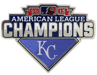 Kansas City Royals 2015 American League Champions Pin