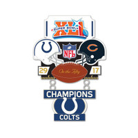 Super Bowl XLI (41) Commemorative Dangler Pin - 50th Anniversary Edition