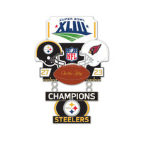 Super Bowl XLIII (43) Commemorative Dangler Pin - 50th Anniversary Edition