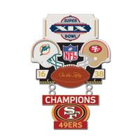Super Bowl XIX (19) Commemorative Dangler Pin - 50th Anniversary Edition