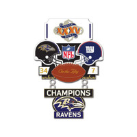Super Bowl XXXV (35) Commemorative Dangler Pin - 50th Anniversary Edition