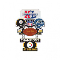 Super Bowl XL (40) Commemorative Dangler Pin - 50th Anniversary Edition