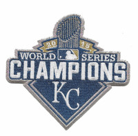 Kansas City Royals 2015 World Series Champions Patch