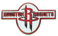 Houston Rockets Logo with Word Mark Pin