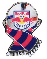 New York Red Bull MLS Scarf Pin