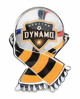 Houston Dynamo MLS Scarf Pin