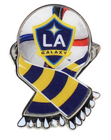 LA Galaxy MLS Scarf Pin