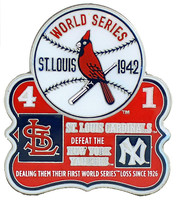 1942 World Series Commemorative Pin - Cardinals vs. Yankees