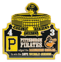 1971 World Series Commemorative Pin - Pirates vs. Orioles