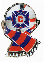 Chicago Fire MLS Scarf Pin