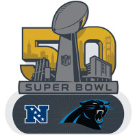 Carolina Panthers 2016 NFC Champions Pin