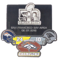 "Super Bowl L (50) Champions ""Ultimate"" Pin - Limited 1,000 - Medium Style"