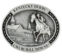 Kentucky Derby 3-D Pewter Pin