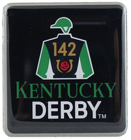 2016 Kentucky Derby 142 Logo Pin
