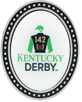 2016 Kentucky Derby 142 Pewter Brooch Style Pin
