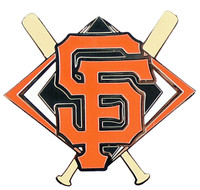 San Francisco Giants Crossed Bats Pin