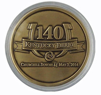 2014 Kentucky Derby 140 Bronze Coin