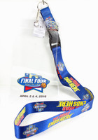 "2016 Men's Final Four Lanyard & Ticket Holder w/ ""I Was There"" Pin"