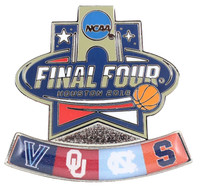 2016 Men's Final Four Dueling Teams Pin
