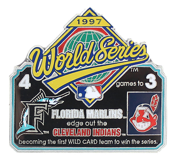 1997 World Series Commemorative Pin
