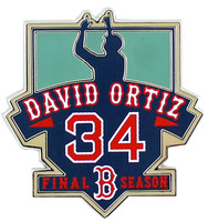 David Ortiz 2016 Final Season Pin