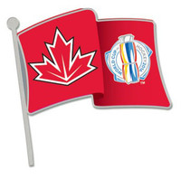 2016 World Cup of Hockey Team Canada Flag Pin