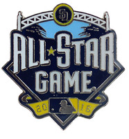 2016 MLB All-Star Game Logo Pin