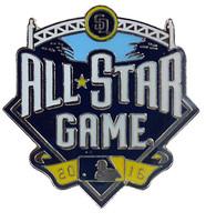 2016 MLB All-Star Game Logo Pin