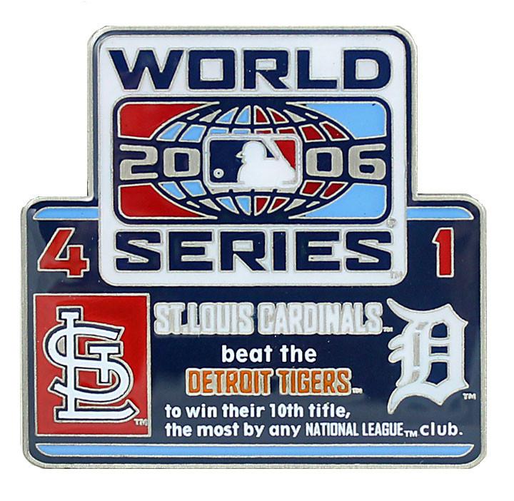 2006 World Series Commemorative Pin