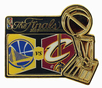 2016 NBA Finals Match Up Pin - Warriors vs. Cavaliers