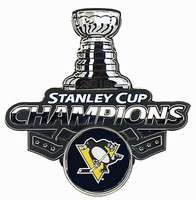 Pittsburgh Penguins 2016 NHL Stanley Cup Champs Trophy Pin