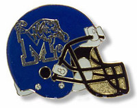Memphis Tigers Football Helmet Pin