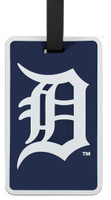 Detroit Tigers Luggage Tag.