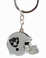 Oakland Raiders Helmet Key Chain