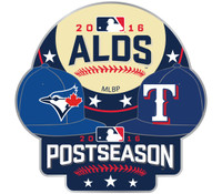 2016 ALCS Match Up Pin Blue Jays vs. Rangers