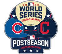 2016 World Series Indians vs. Cubs Dueling Pin