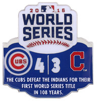 2016 World Series Commemorative Pin - Cubs vs. Indians