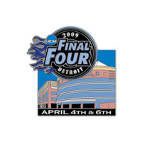 2009 NCAA Final Four Theme Pin
