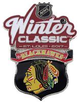 2017 NHL Winter Classic Chicago Blackhawks Team Pin