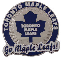 "Toronto ""Go Maple Leafs"" Pin"