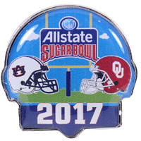 2017 Sugar Bowl Pin - Auburn vs. Oklahoma