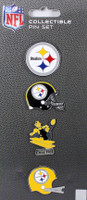 Pittsburgh Steelers Evolution Pin Set
