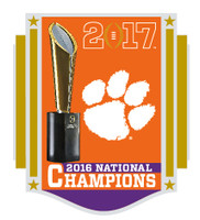 Clemson Tigers 2017 College Football National Champions Pin