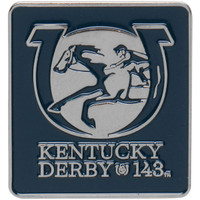 2017 Kentucky Derby (143rd) Square Logo Pin