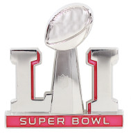 Super Bowl LI (51) Super Sized 3-D Logo Pin - 2""