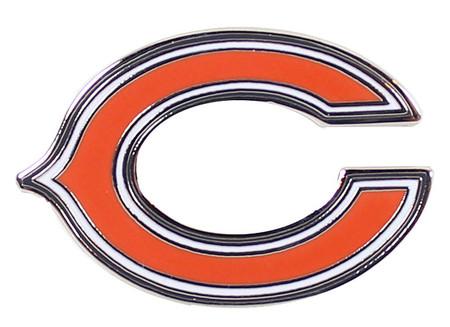 chicago bears quotcquot logo pin