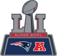 New England Patriots 2016 AFC Champs / Super Bowl LI(51) Pin