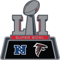Atlanta Falcons 2016 NFC Champs / Super Bowl LI (51) Pin